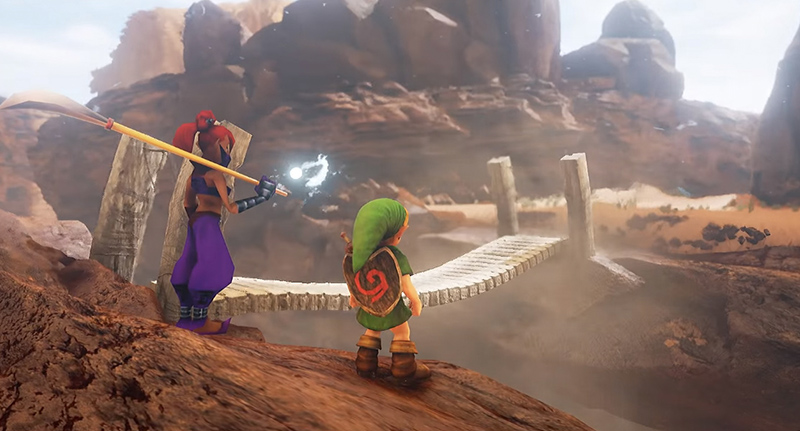 FacebookThumbnail 98 Another Ocarina Of Time Location Stunningly Remade In Unreal Engine