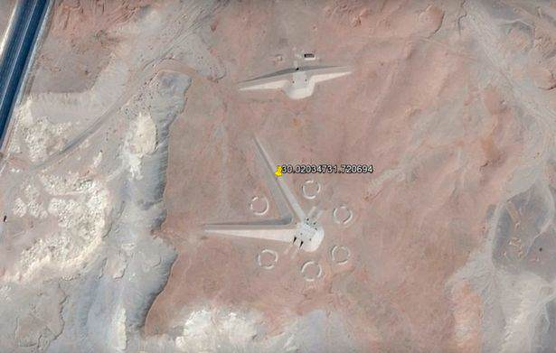 Alien Hunters Claim To Have Found UFO Landing Strip In Egypt Google Earth