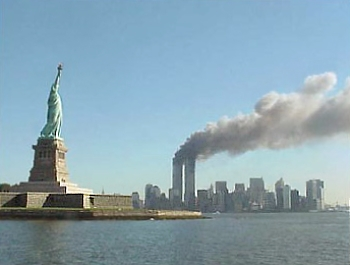National Park Service 9 11 Statue of Liberty and WTC fire Obama Could Release Controversial Top Secret 9/11 Document