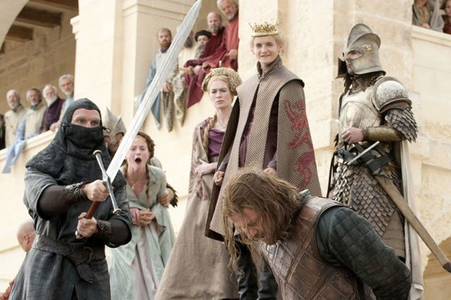 Neds execution 640x426 Meet The Politicians Whose Careers Mirror Game Of Thrones Characters
