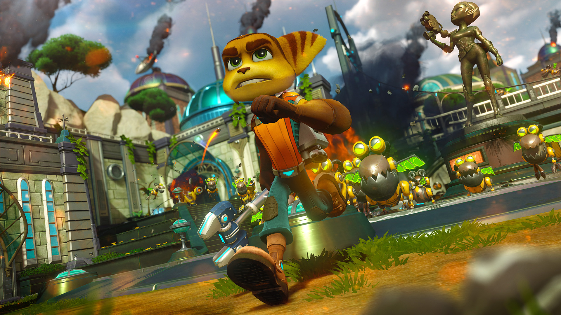 Ratchet & Clank Is A Love Letter To A Treasured Franchise RCPS4 5 nov run