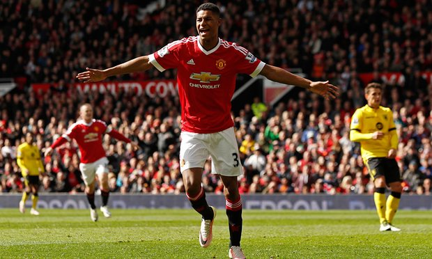 Rashford Villa celebration Five Things The Premier League Taught Us This Weekend