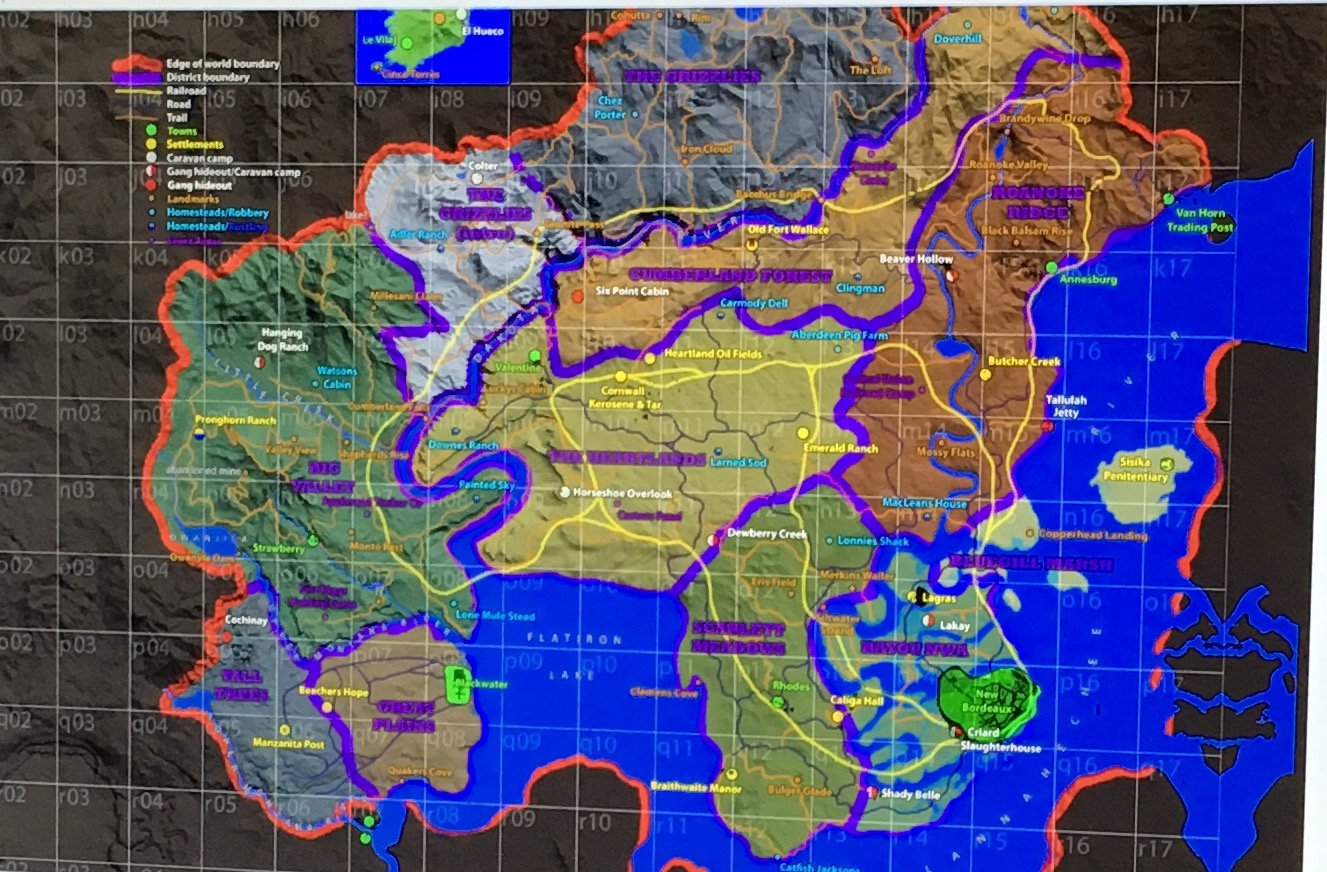 Red Dead map leak Red Dead Redemption 2 Reportedly Happening, Map Leaked Online