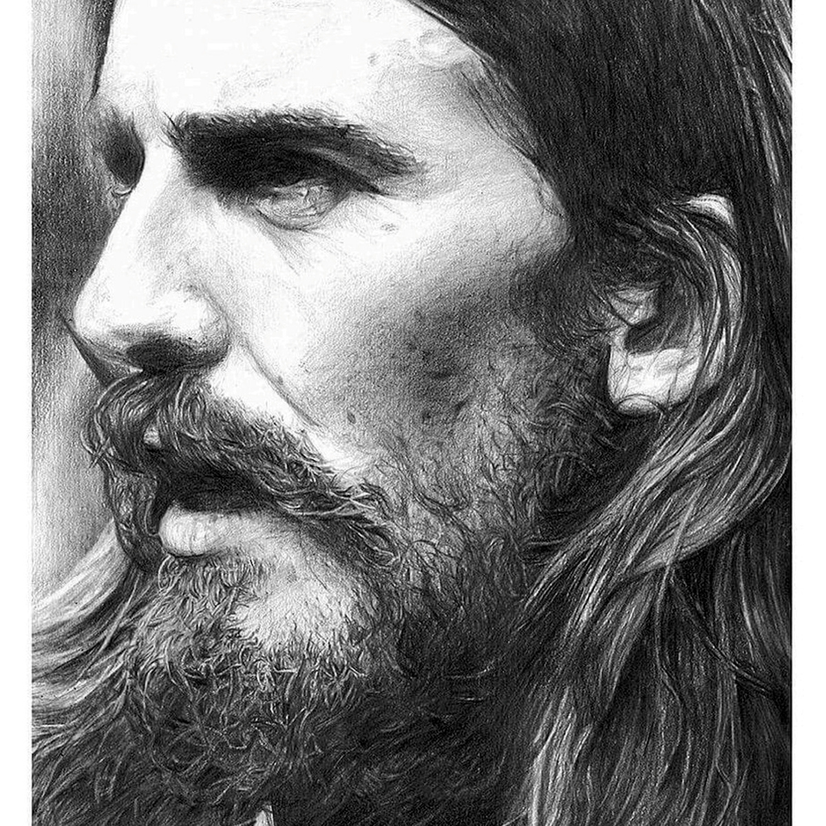 SWNS BEATLES DRAWINGS 02 Former Model Now Creates Incredible Photo Real Portraits Using Pencil