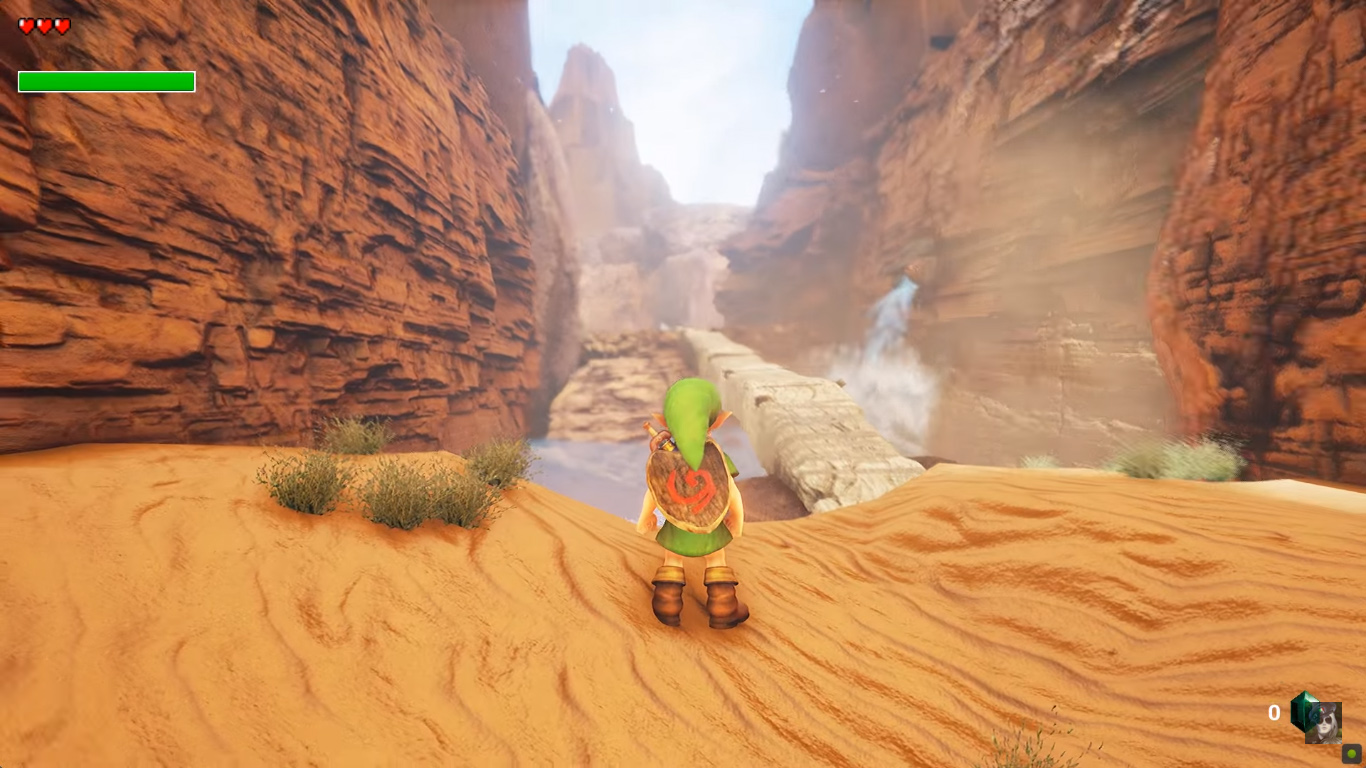 Another Ocarina Of Time Location Stunningly Remade In Unreal Engine Untitled 1 5