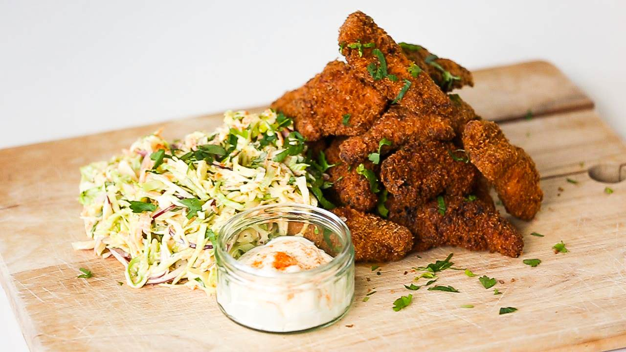 Heres How To Make Our Southern Fried Chicken And Slaw chicken1