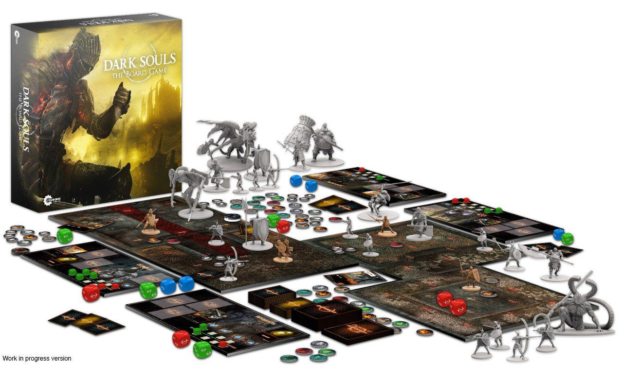 dark souls board game.0 Dark Souls Board Game Funded In Ridiculous Time