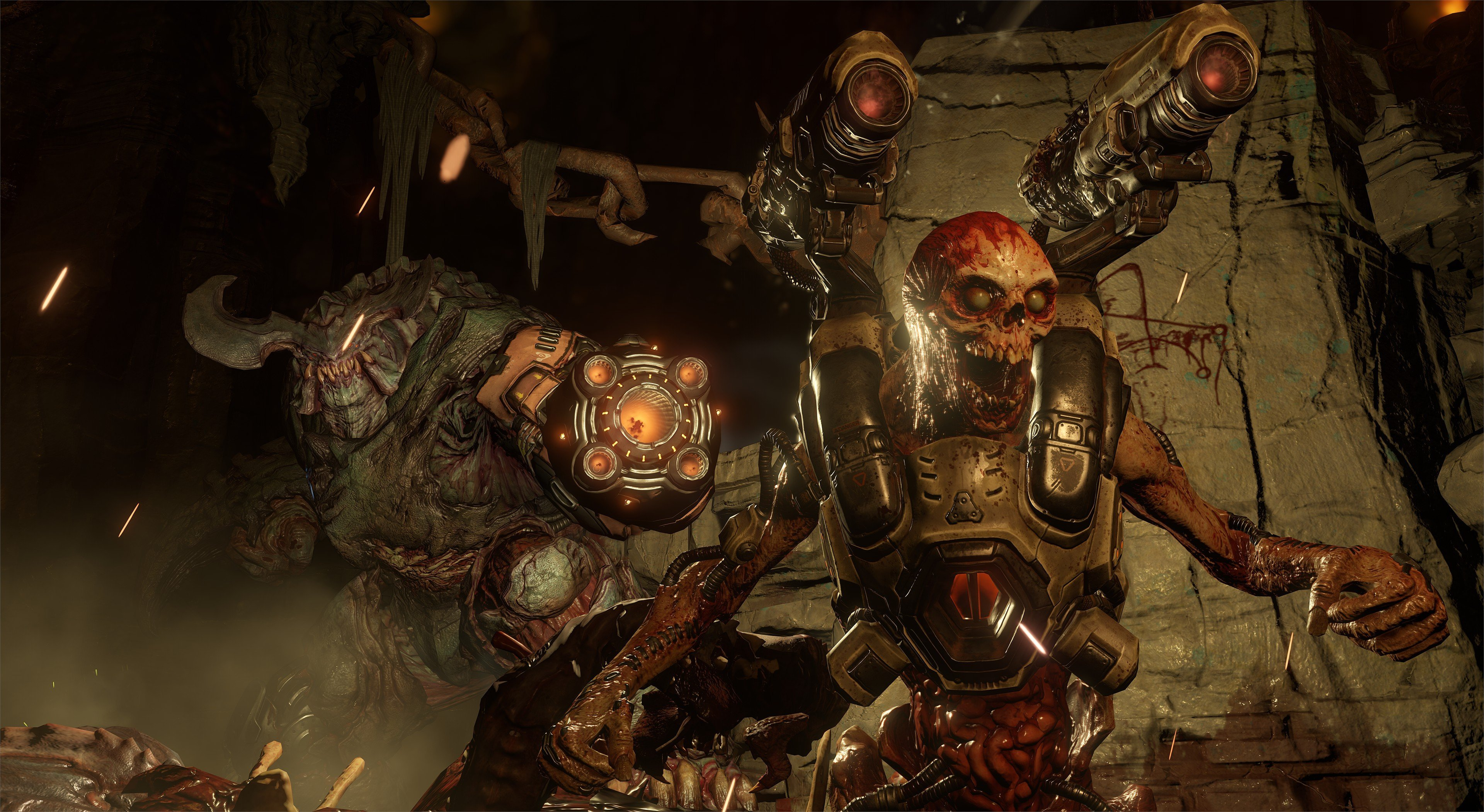 DOOM Hides An Awesome Retro Secret In Every Mission doom 2016 005