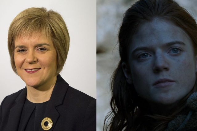 Meet The Politicians Whose Careers Mirror Game Of Thrones Characters nicole and ygritte 640x426
