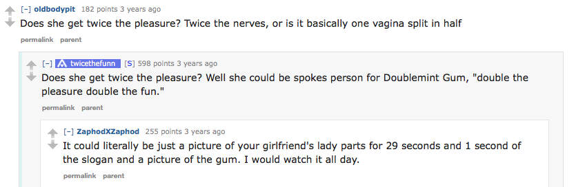 reddit2 1 Guy Reveals What Its Like To Have Sex With Girlfriend With Two Vaginas