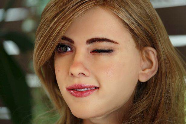 A Guy Has Built A Scarily Lifelike Scarlett Johansson Robot robot4 1