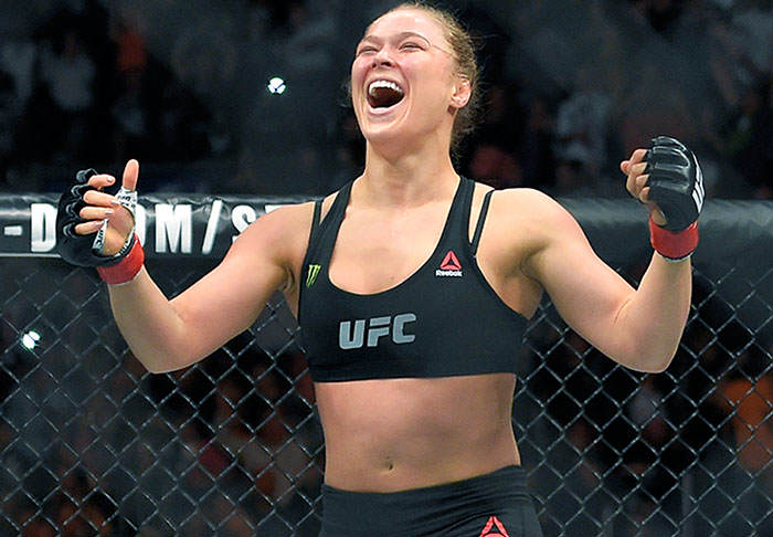 rousey1 Dana White Reveals When Fans Will See Ronda Rousey Back In Action