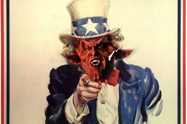 satan uncle sam 640x426 Heres Why Satanic Temple Are P*ssed Off With U.S. Presidential Hopeful