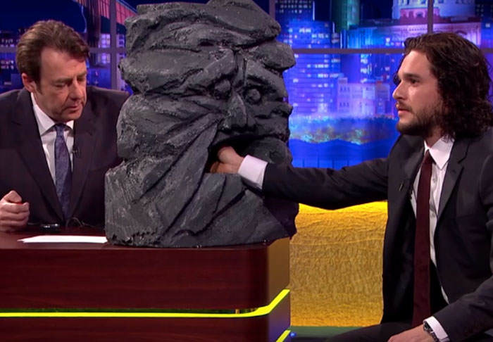 snow1 Jonathan Ross Grills Jon Snow About His GoT Fate In Lie Detector Test