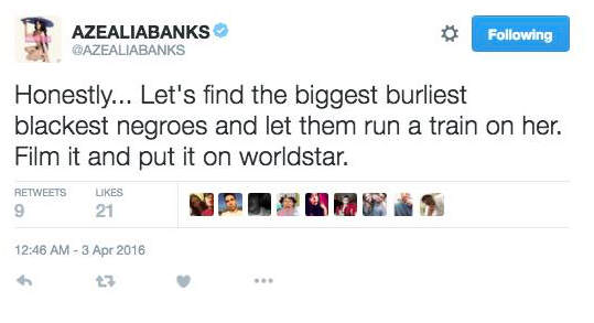 Azealia Banks Went Way Too Far In Disgusting Sarah Palin Twitter Rant ss3