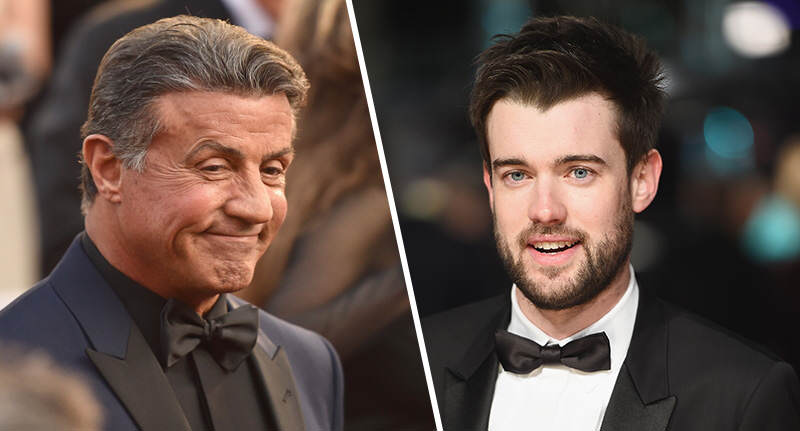 stallone whitehall FB Sylvester Stallone Vs Jack Whitehall Might Be The Weirdest Celebrity Feud Ever