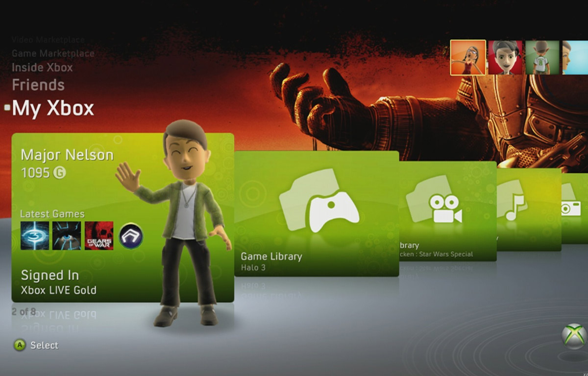 xboxlive screenshot3 Former Director Claims Xbox Live Changed Gaming Forever