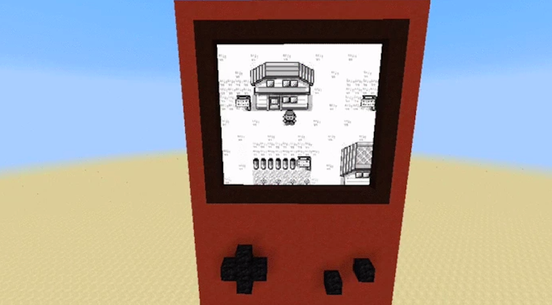 This Working Version Of Pokemon Red In Minecraft Is Insane 1454987185331267215