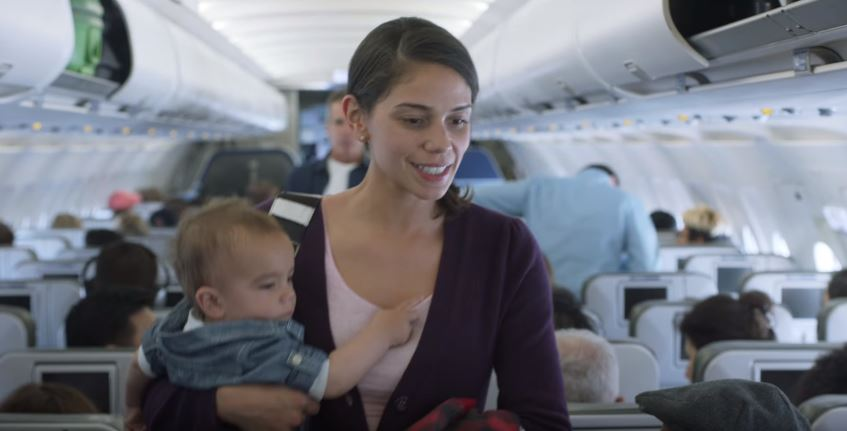 2 1 Airline Finds Incredible Way To Turn Crying Babies On Flights Into A Positive