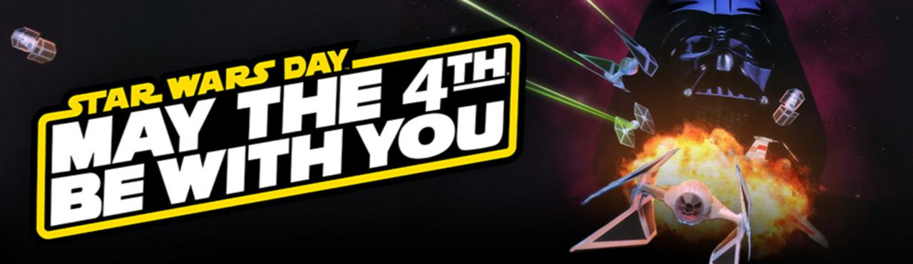 Star Wars Day Celebrated With Ridiculous Sales 3057396 ddstarwars