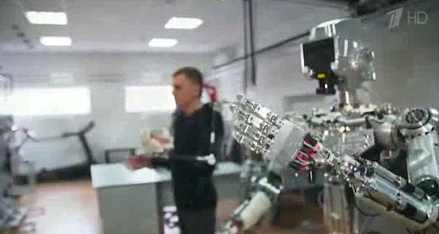 Russia To Develop Iron Man Robot Soldiers, Whole World Hides 34AFCF3300000578 3612649 image a 41 1464351431120 1