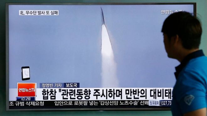 89839542 89839540 North Korea Missile Threat Flops After They Fail To Get It Up