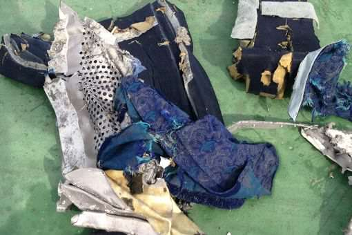 Debris of the Egyptair crash 2 Egyptian Military Releases First Images Of EgyptAir Wreckage