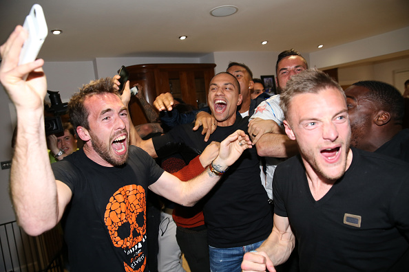 Fuchs Vardy Celebration Leicester City Winning The Premier League Gives Football Hope