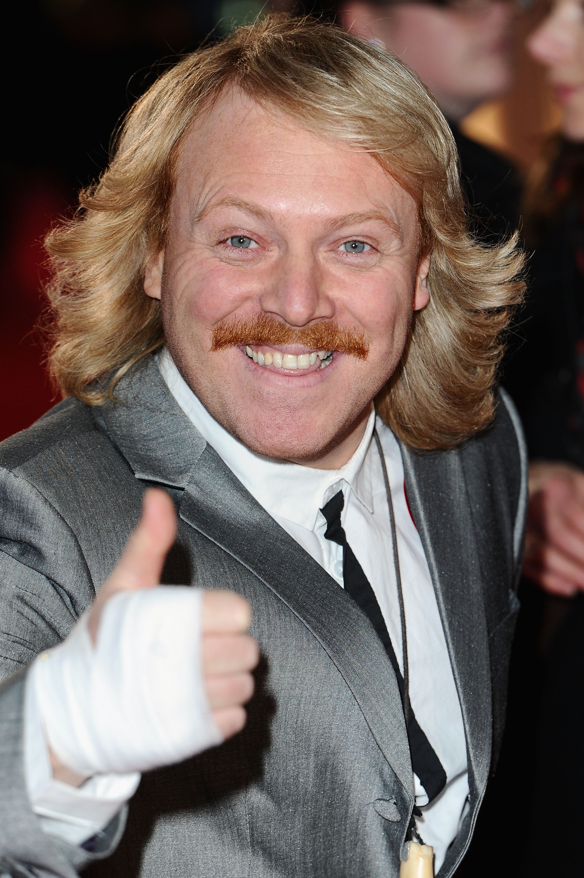 Keith Lemon Finally Reveals Reason For Bandage On Right Hand GettyImages 109113540