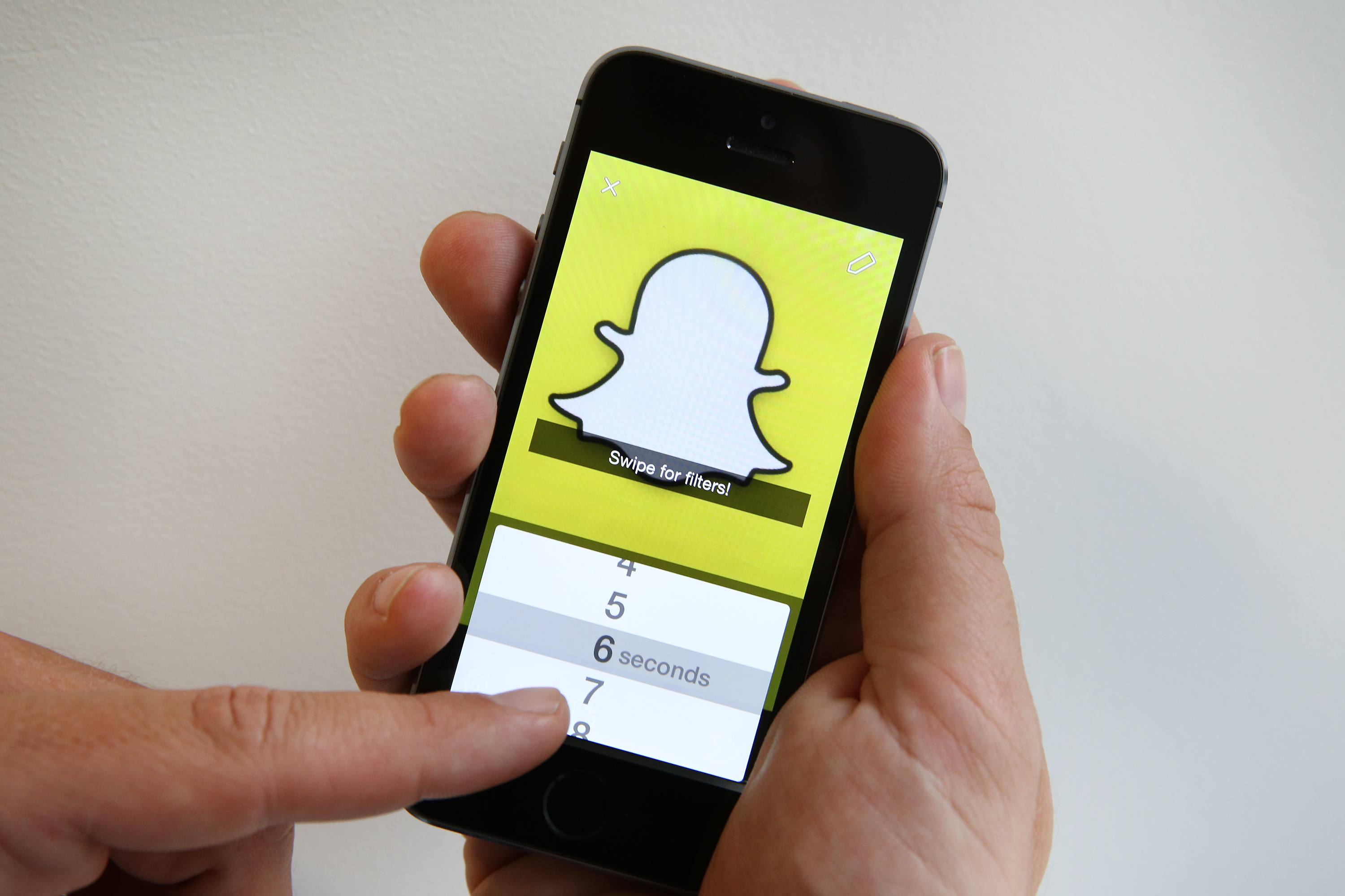 Snapchat Users Could Be Breaking The Law, Heres How GettyImages 456736602