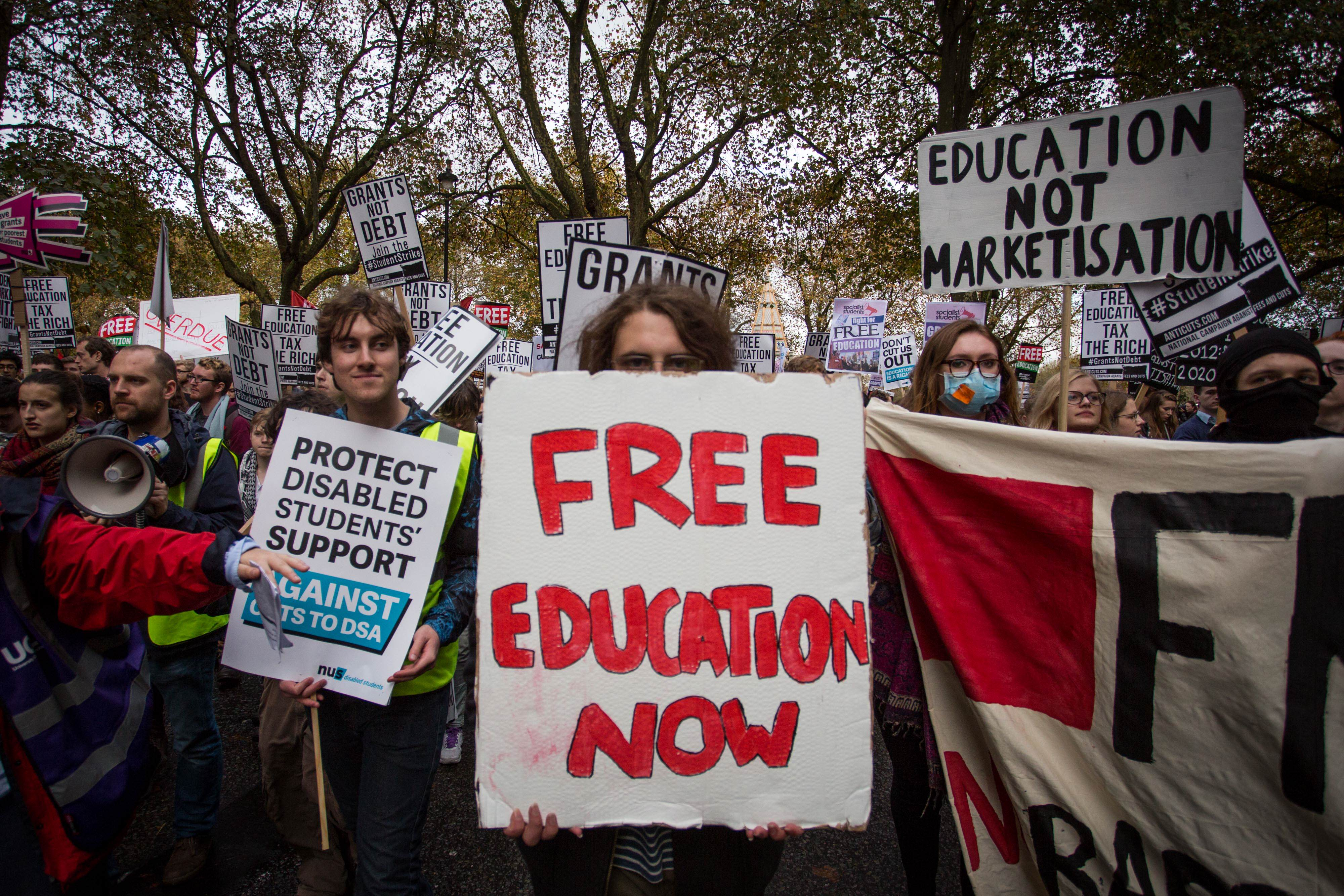GettyImages 495633334 New Government Plans Are Bad News For Future University Students