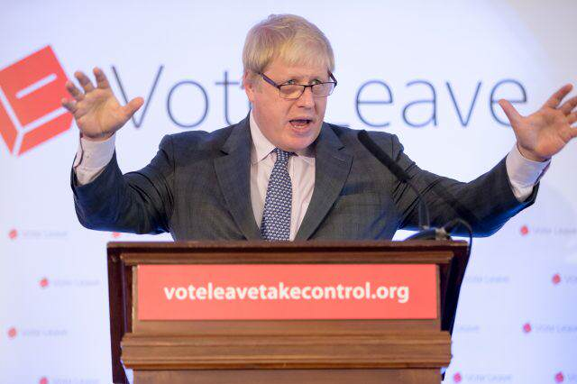 GettyImages 531350572 640x426 Boris Johnson Criticised For Comparing European Union And Hitlers Germany