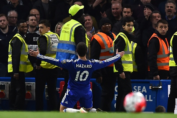 Hazard ben stanstall getty Internet Reacts To Spurs F*cking It Up, Leicester Are Champions!