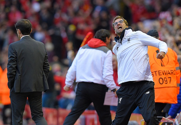 Klopp Getty Lluis Gene Liverpool Fly English Flag As They Reach Another European Final