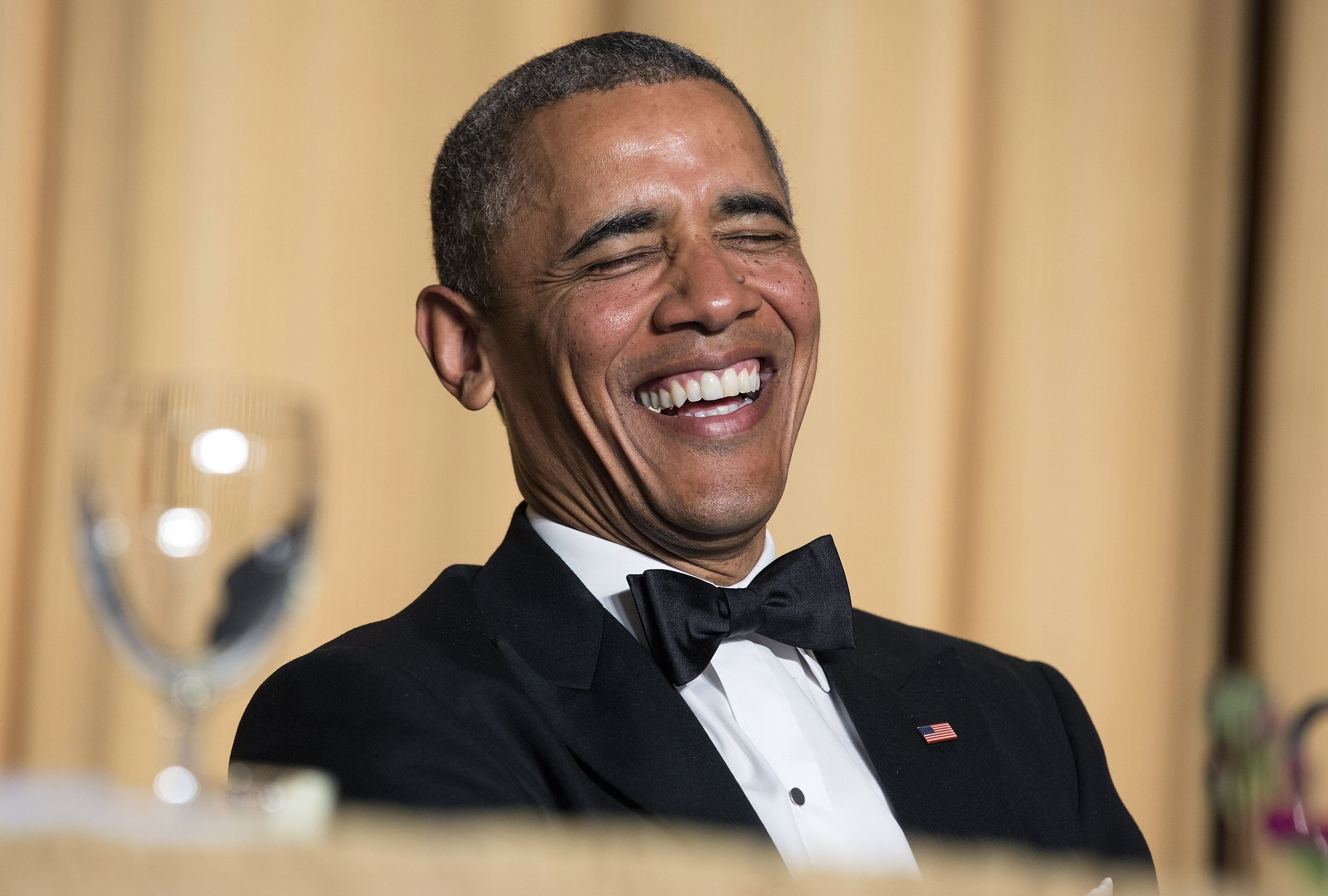 Obama laugh Barack Obamas Latest Speech Proves He Missed His True Calling As A Comedian