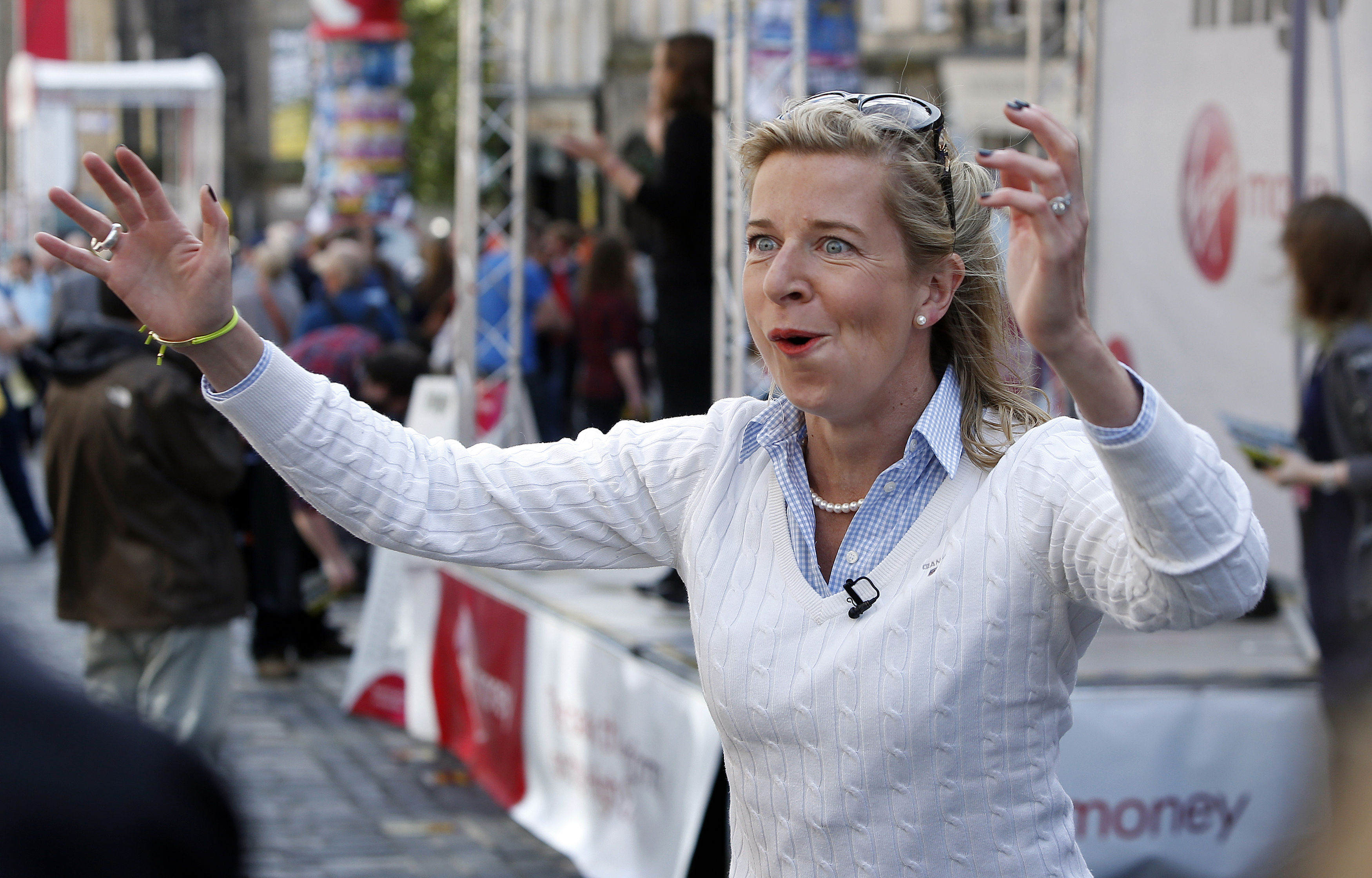 Katie Hopkins Expands On Claim To Strip Naked With Sausage Up Bum PA 23910461