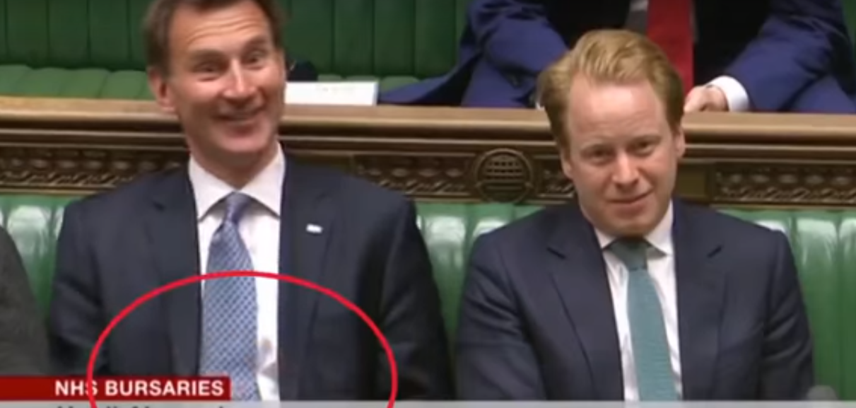 Untitled 1 Jeremy Hunt Dressed Down For Using His Phone During NHS Debate