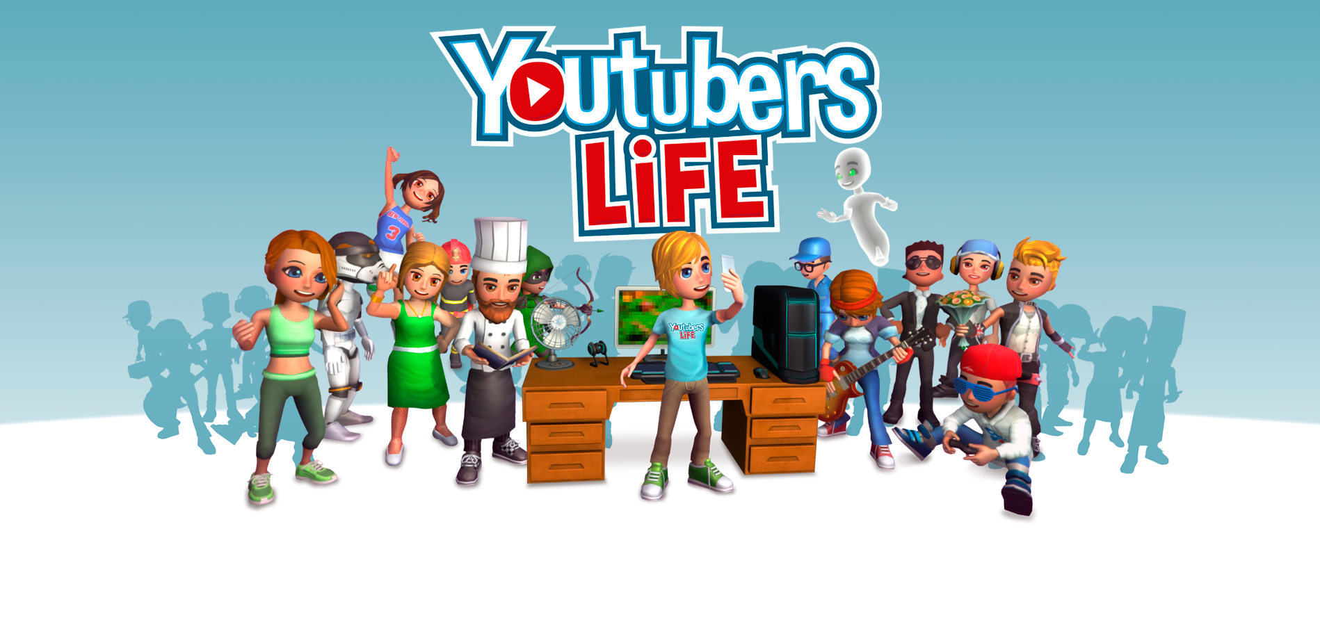 bg home new YouTubers Play A Game About Being YouTubers, Because YouTube