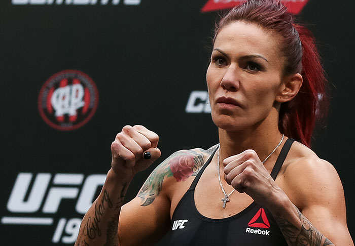 cyborg1 Cris Cyborg Dominates UFC Debut But Defies Expectations Post Fight