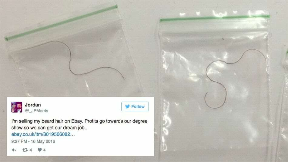 ebay2 These Students Tried To Sell Beard Hairs As Free Meal Tokens