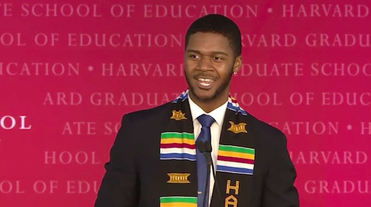 grad1 Harvard Students Incredibly Emotional Graduation Speech Has Gone Viral