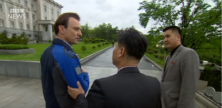 Heres The Footage That Got The BBC Banned From North Korea korea4