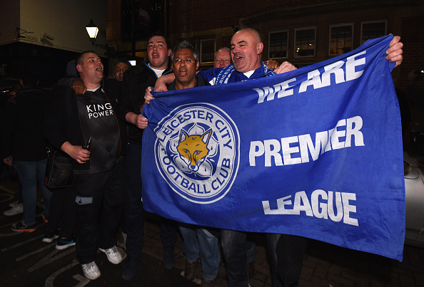 lcfc flag Heres What The Leicester Team Did When They Became Champions