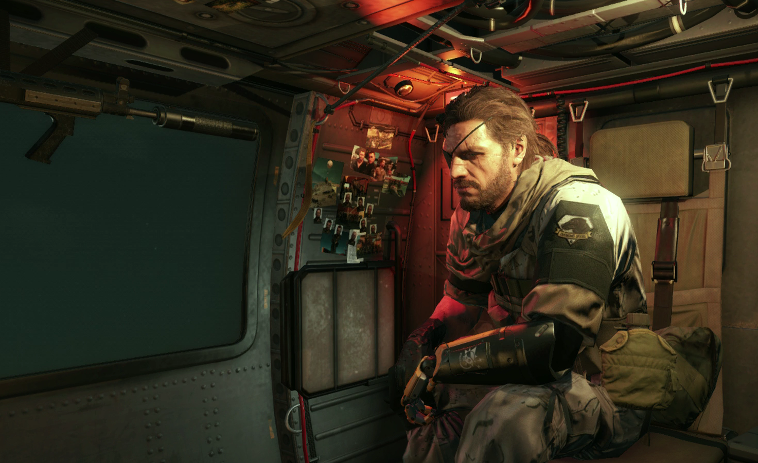 mgsv review hero Meet The Metal Gear Man And His Incredible Bionic Arm