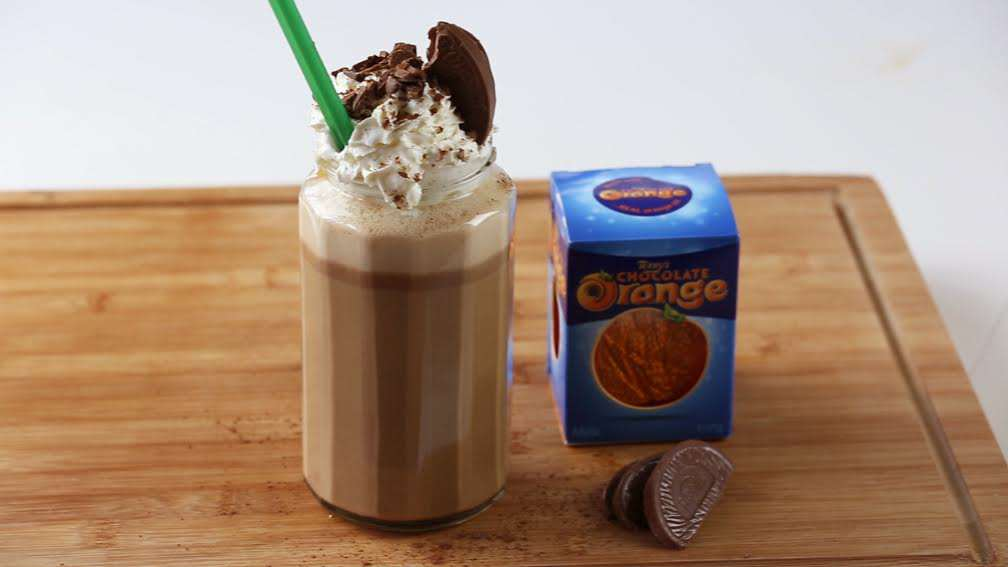 %name Heres How You Make A Terrys Chocolate Orange Iced Mocha