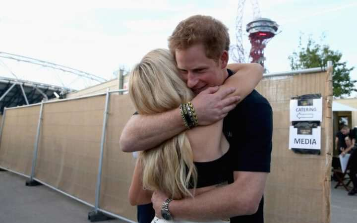 100078982 LONDON ENGLAND   SEPTEMBER 14  Prince Harry hugs Ellie Goulding backstage at the Invictus large transGO3nPzUHtl7QIt9kBJy kuprYwTgBm4iwmGV00CEQc Prince Harry May Have A Secret Celebrity Girlfriend