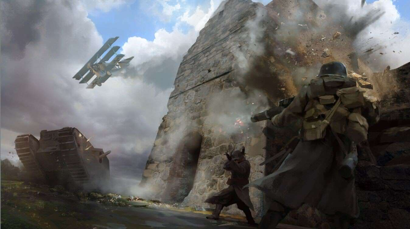 2ryfgh3 Check Out This Gorgeous Battlefield 1 Concept Art
