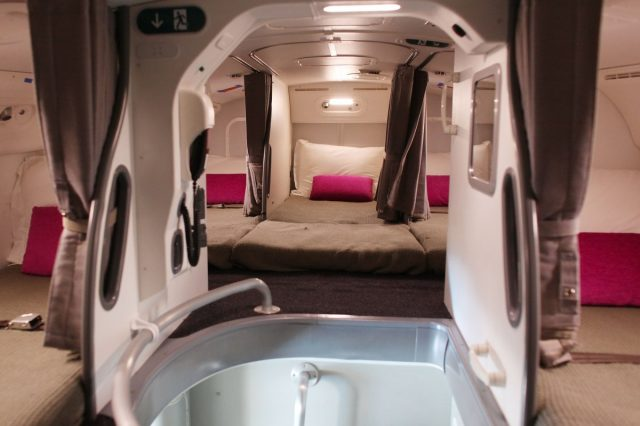 EWfY8Q9 640x426 Revealed: The Secret Room On Airplanes Just For Flight Attendants