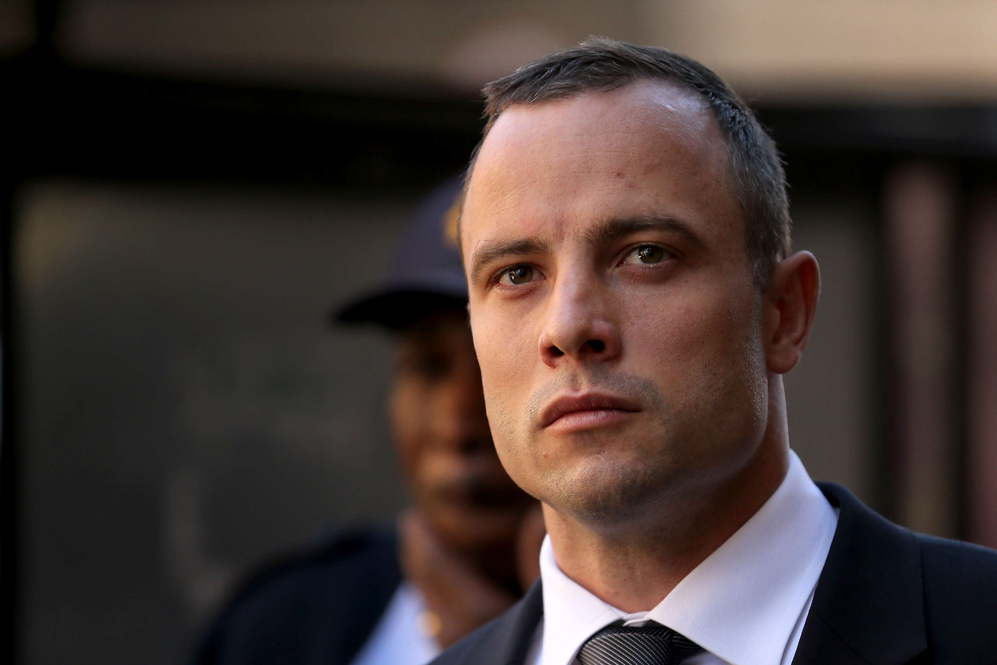 GettyImages 490302359 Oscar Pistorius Shocks Court By Walking On His Stumps