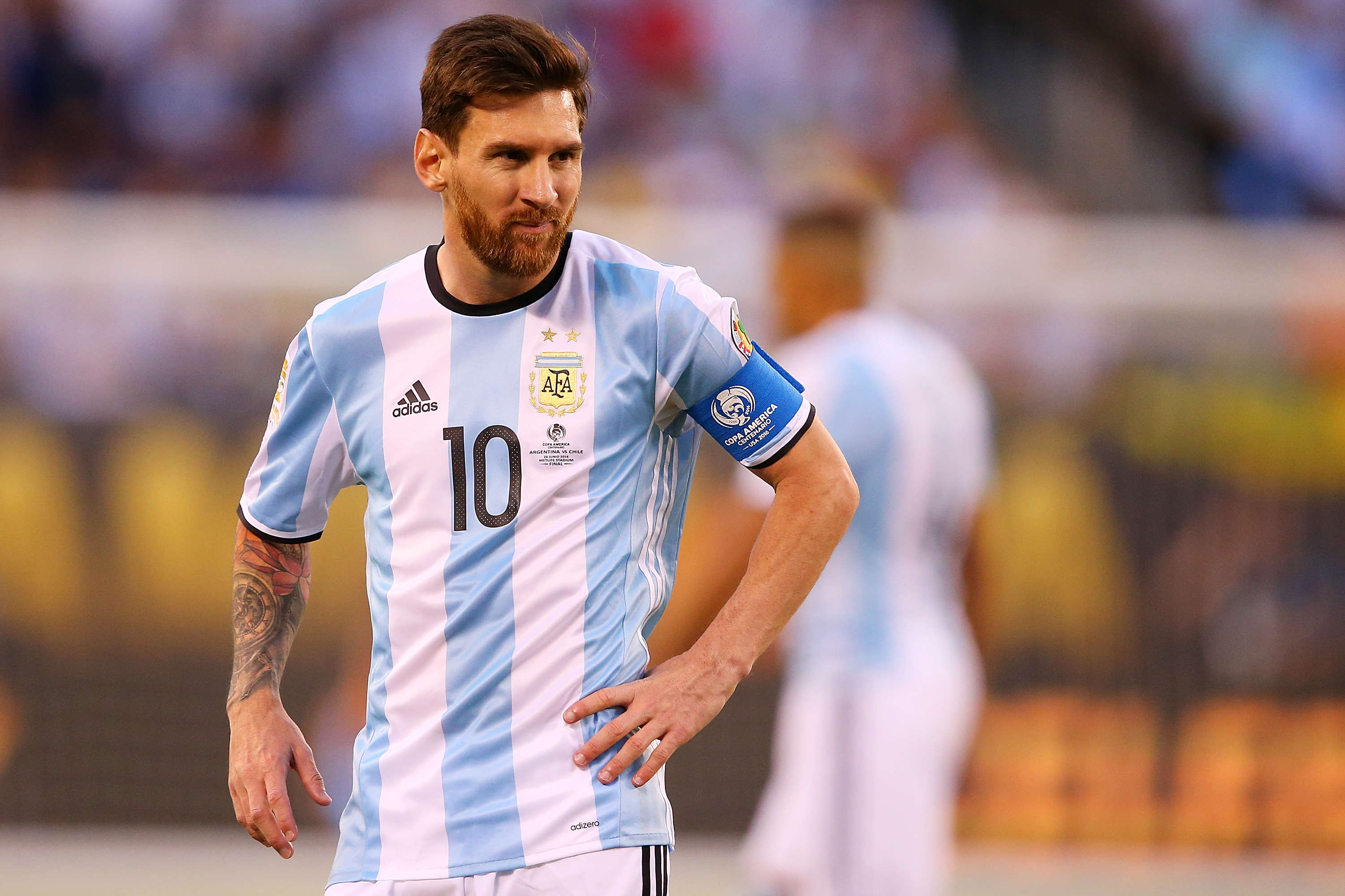 Lionel Messi Retires From International Football After Copa America Final Defeat GettyImages 543237744